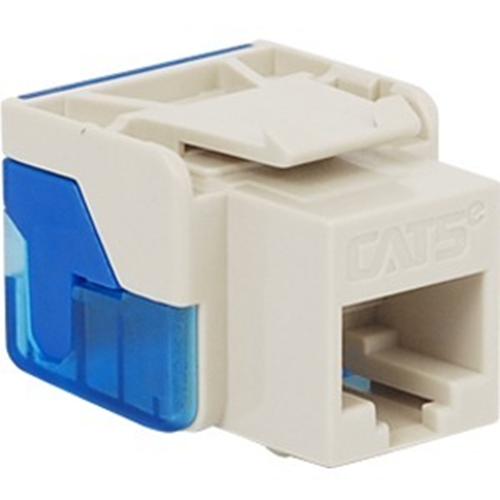 ICC Cat 5e, EZ, Modular Connector, White