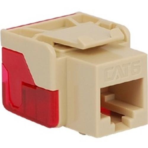 ICC Cat 6, EZ Modular Connector, Ivory