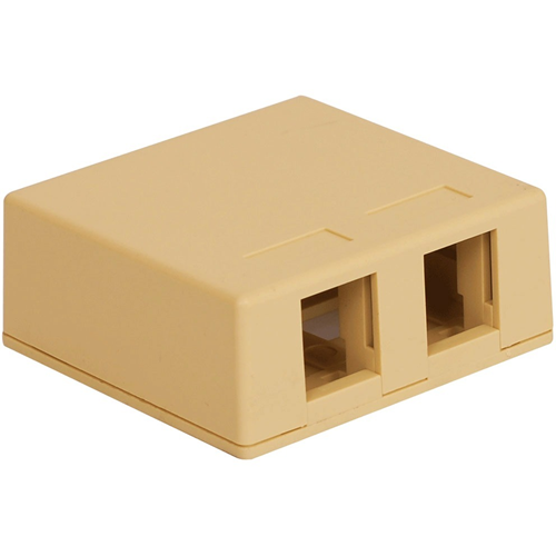 ICC IC107SB2IV Surface Mounting Box
