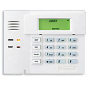 Silver//Black Honeywell 6460S Ademco//Honeywell Premium Alpha Keypad