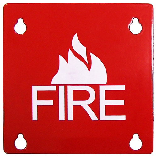 SAE FP4 Square Fire Cover Faceplate