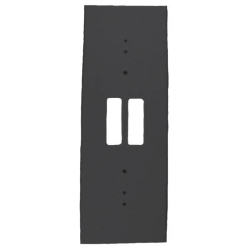 BLACK TRIM PLATE F/DS150&DS160
