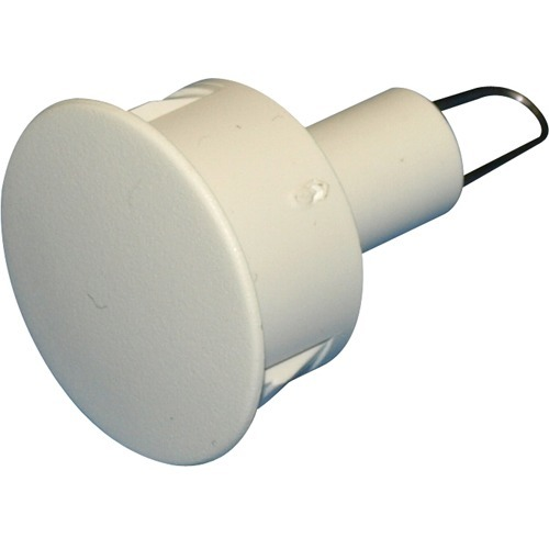 1/2' PRE WIRE PLUGS WHITE ONLY