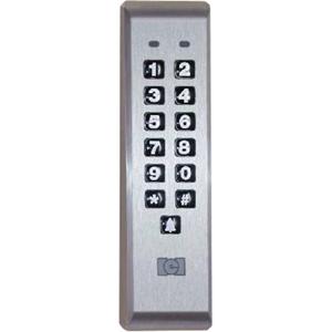 Linear PRO Access 212ILMAL Mullion Mount Backlit Keypad Access Device