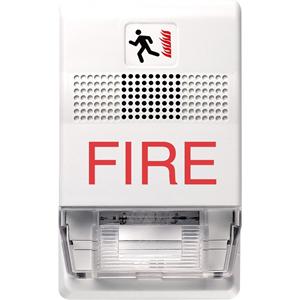 MINI HRN STRB WHITE W/FIRE CND