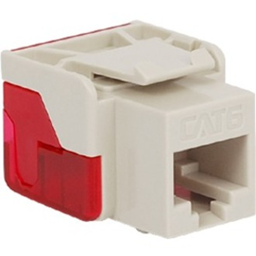 ICC Cat 6, EZ Modular Connector, White