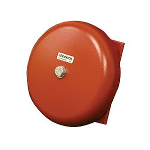"""BELL,IN/OUT,12V,10"""" SHELL,RED"""