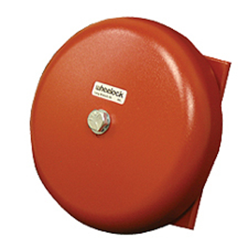 """BELL,IN/OUT,24V,10"""" SHELL,RED"""