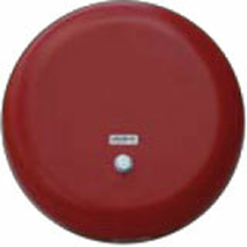 """BELL,IN/OUT,24V,6"""" SHELL,RED"""