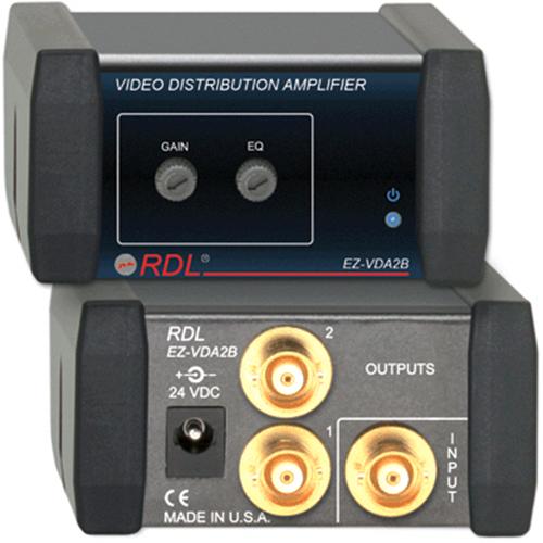 RDL EZVDA2B Video Distribution Amplifier