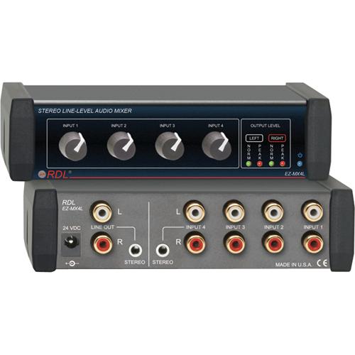 RDL EZ-MX4L Audio Mixer