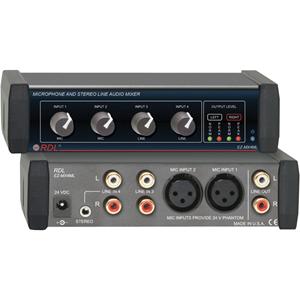 RDL EZ Series EZ-MX4ML Audio Mixer
