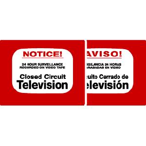 MAXWELL CCTV DECALS (DTV202)