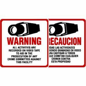 Maxwell STV-204 Caution Sign