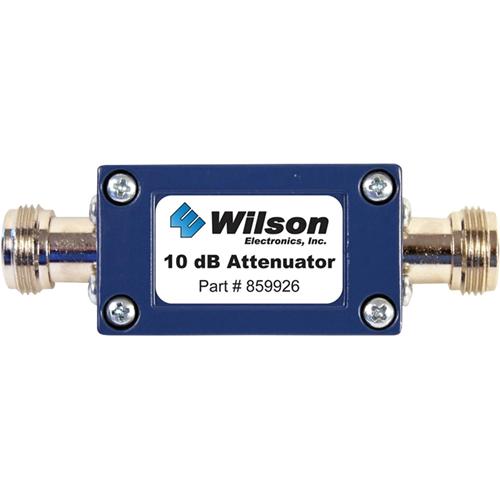 Wilson 10 dB Cellular Signal Attenuator, 50 Ohm (N Female Connectors)