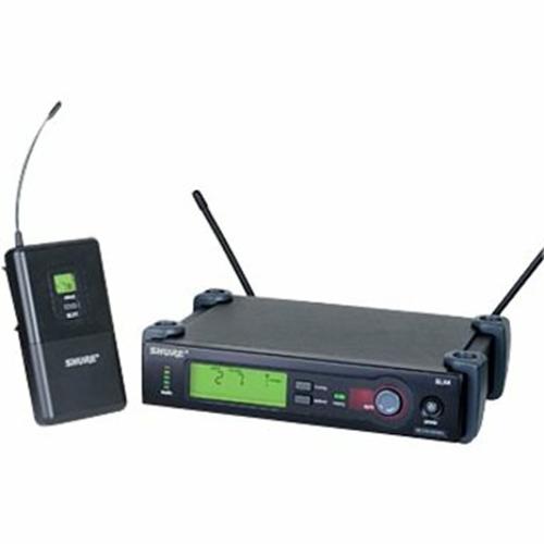 Shure SLX14 Wireless Guitar / Instrument System - Receiver, SLX1 Beltpack + Cable H5 518-542 MHz