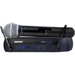 Shure PGXD24/PG58 PGX Series Handheld Digital Wireless System