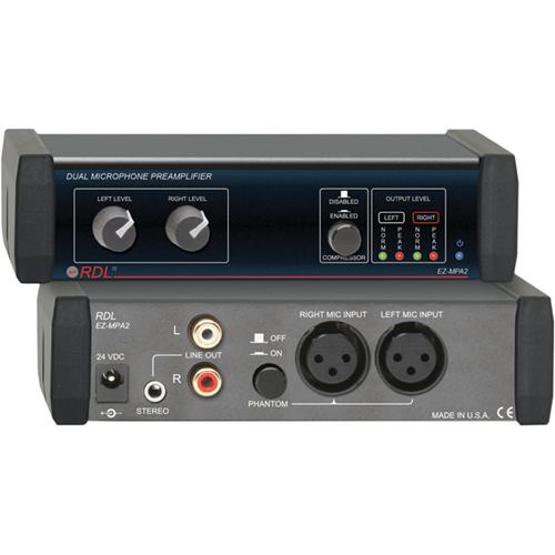 RDL EZ-MPA2 Amplifier - 2 Channel