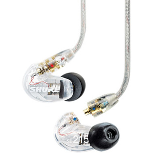 Shure SE215 Sound Isolating Earphones - Clear
