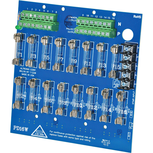 16 OUTPUT POWER DISTRIBUTION MODULE - CO