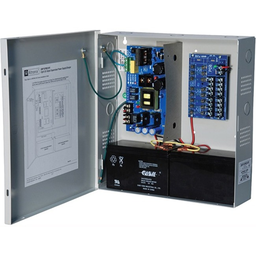8 OUTPUT POWER SUPPLY/CHARGER - 24VDC