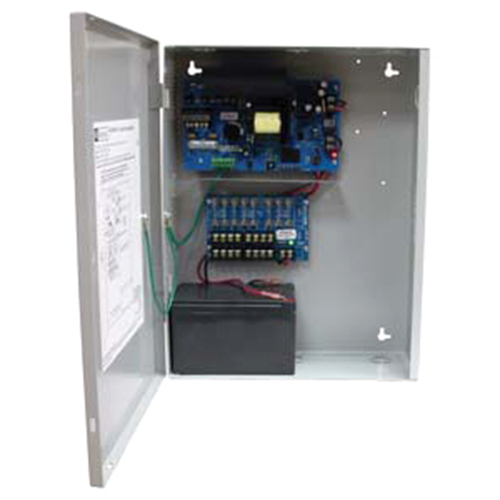 8 OUTPUT POWER SUPPLY/CHARGER - 12VDC