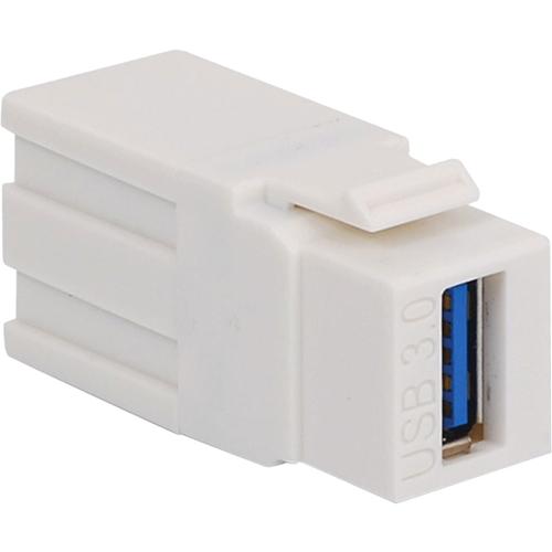 MODULE USB TYPE A FEM/FEM WHT