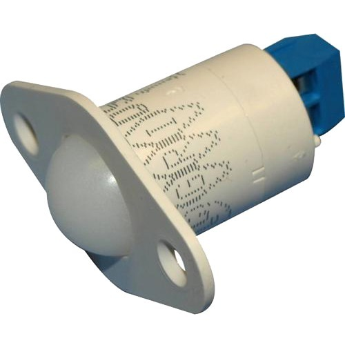 "3/4"" DOME SWITCH -TERM-WHT"