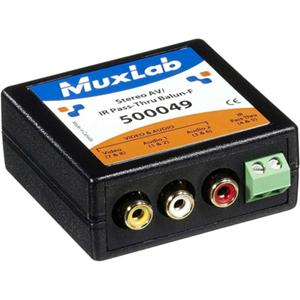 MuxLab Stereo AV/IR Pass-Thru Balun