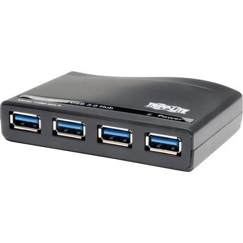 Tripp Lite 4-Port USB 3.0 SuperSpeed Compact Hub 5Gbps Bus Powered