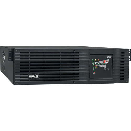 Tripp Lite UPS Smart Online 3000VA 2400W Rackmount 110V / 120V USB DB9 Hardwire 3URM