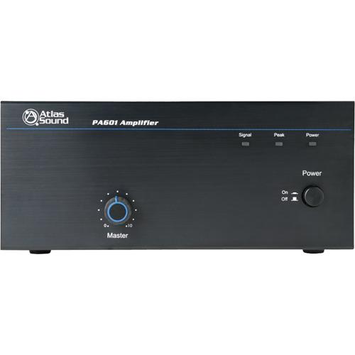 Atlas Sound Strategy PA601 Amplifier - 60 W RMS - 1 Channel