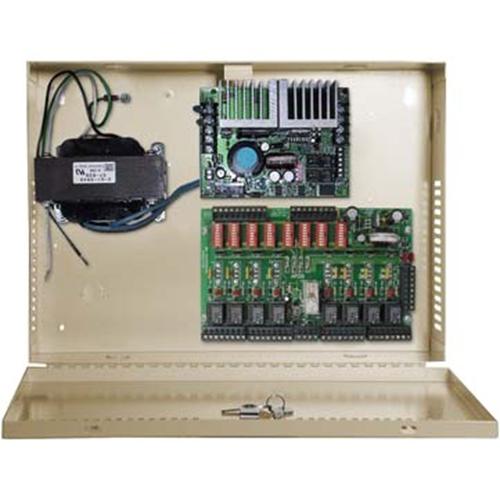 12 OR 24 VOLTS 10 AMP POWER SUPPLY W/DISTRIB BOARD