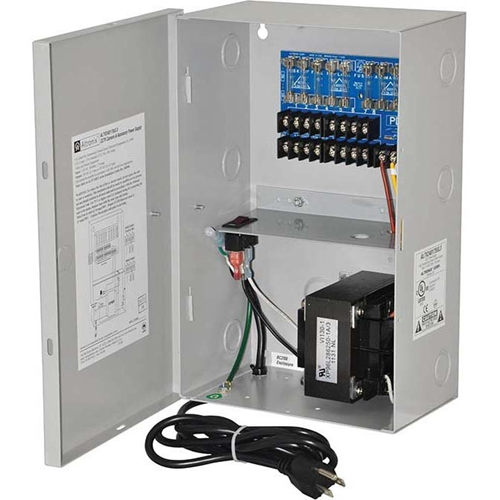 Altronix 8 Fused Outputs CCTV Power Supply. 24VAC @ 7A or 28VAC @ 6.25A. 3-Wire Line Cord