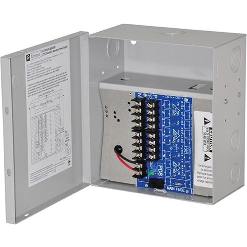 POWER SUPPLY 6-15VDC @ 4 AMP 8 PTC 3 WIRE CORD