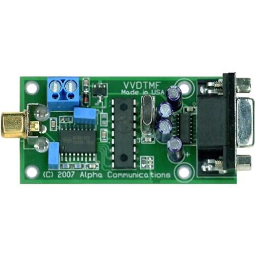 Alpha VVDTMF DTMF to RS232 Decoder Board