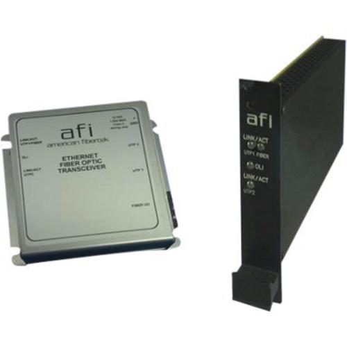 Afi 10/100/1000Base-T to 1000Base-SX/LX Ethernet Media Converter