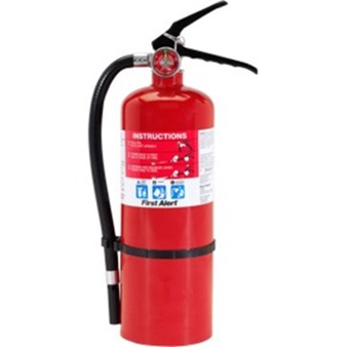 FIRE EXTINGUISHER 3-A-40-B:C WALL HOOK- RED