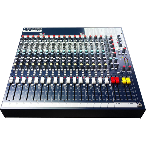 16CHANNEL RACK MOUNTED PRO MIXING