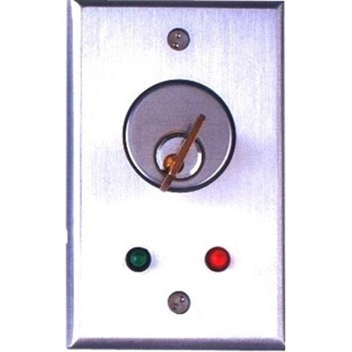 Camden Key Switch, SPDT Momentary