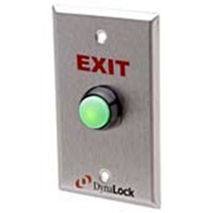 WEATHER PROOF PUSH TO EXIT BUTTON