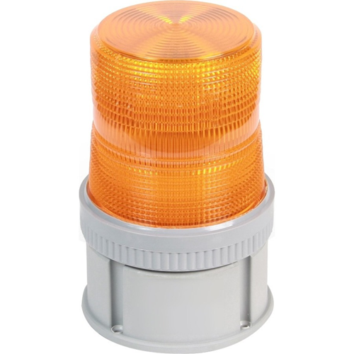 FLASH HALOGEN 24V DC AMBER