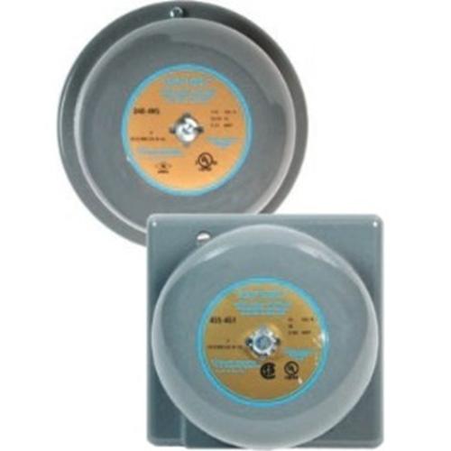"Edwards Signaling 10"" Vibrating Bell 120 VAC 50/60 Hz, 0.070 A"
