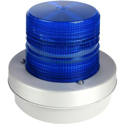 FLASHING STROBE 12-48VDC BLUE