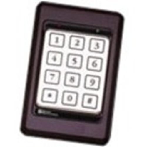 Essex Electronics K1 Series 12 pad 3x4 Keypad w/ Black Bezel
