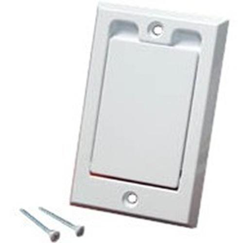 WHITE SQUARE-DOOR VALVE