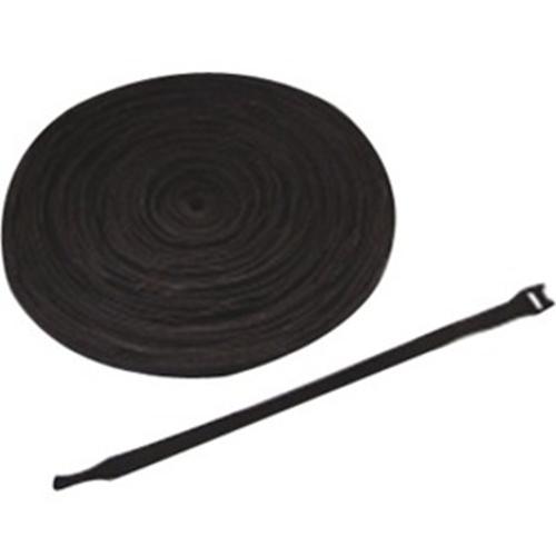"""ICC Velcro Brand Cable Tie, 8"""" , Black, 100pk"""