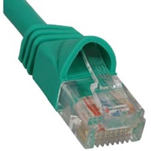 ICC Patch Cord, Cat 5e, Molded Boot, Green