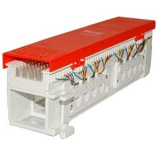 66 Wiring Block Pre-Wired with 12 Voice 6P4C Ports