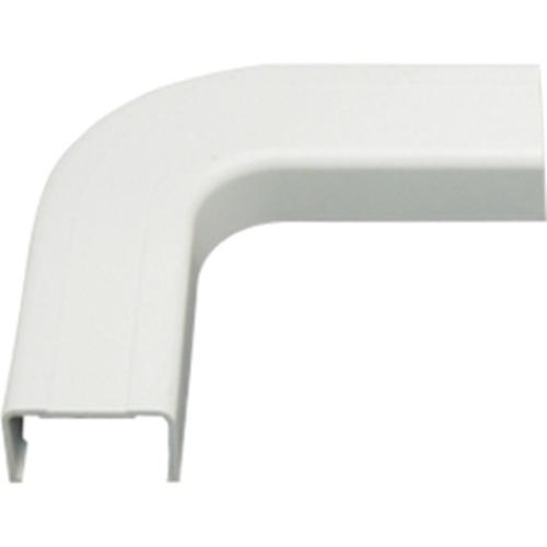 FLAT ELBOW 1 1/4' WHITE